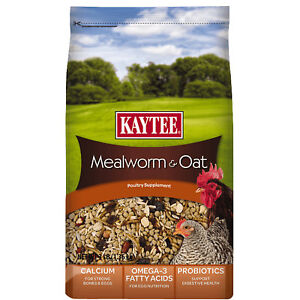Kaytee-Mealworms-and-Oats-Poultry-Supplement-3lb-Free-Shipping
