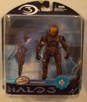 Halo 3 Video Game Series 2 - Tru Exclusive Spartan Soldier Eva Brown (moc)