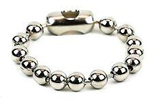 Ball Chain Cuff Steel Classic Punk Rock Style Wrist Bracelet Jewelry