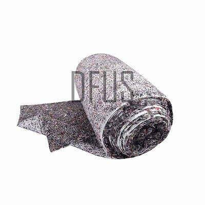 Black Needled Wool Felt with backing FELTEX 1 metre Firm upholstery felt wadding