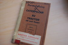 Caterpillar R2 Tractor Crawler Dozer Parts Manual Book Catalog Vintage 50 Gauge