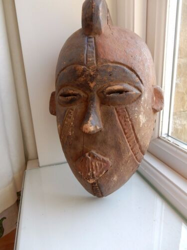 AFRICAN TRIBAL MASK 19TH 20TH c x Country house Ethnographic Collection oo