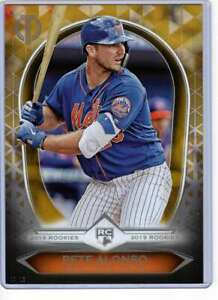 Pete-Alonso-2019-Topps-Tribute-Rookies-5x7-Gold-19R-15-10-Mets