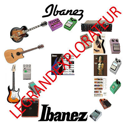 Ultimate Ibanez Operation Service manual Schematics Catalog 500 manuals on  DVD | eBay