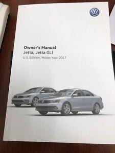 2017 volkswagen jetta gli owners manual ebay rh ebay com jetta owners manual download jetta owners manual download