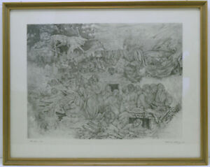 Grafik-Alfred-Kitzig-1963-034-Frieden-1945-034-signiert