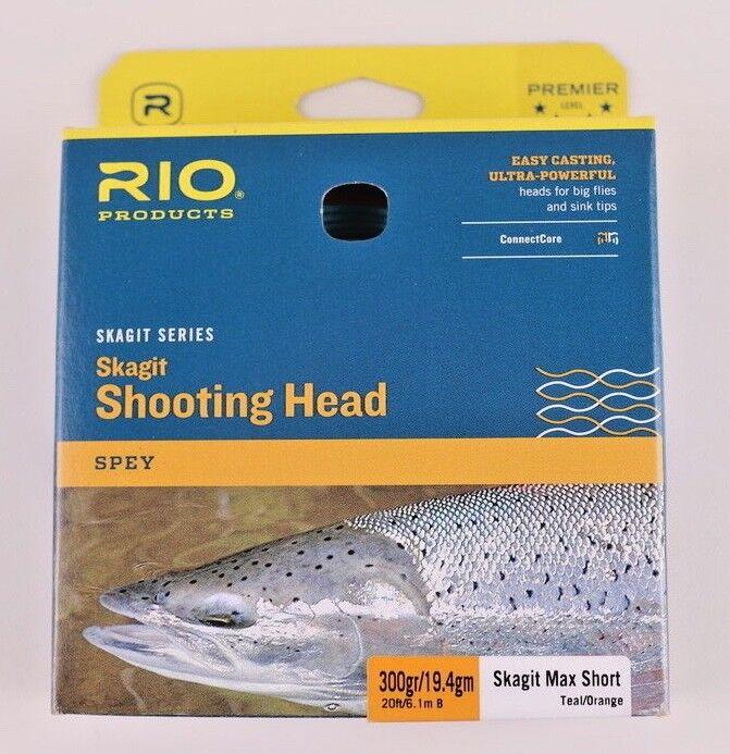 Rio Skagit Max Short 300 Grain Shooting Head Free Fast Shipping 6-20984