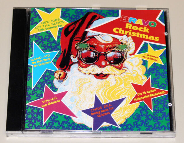 BRAVO ROCK CHRISTMAS - CD - WHAM NEW KIDS BROS PRETENDERS OLDFIELD PRINCE REA