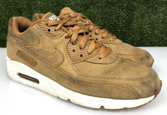 nike air max 90 ultra 2.0 leather wheat/white