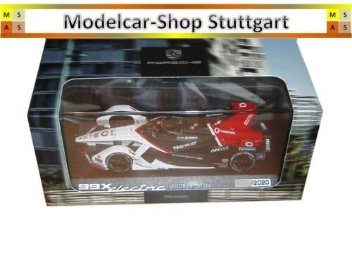 Limited Spectrum Edition Porsche 99X electric Formel E Minichamps 1:43
