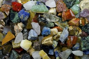 Ultimate World Stone Mix - 3 Pounds of Tumble Rough Rocks and Stones for Tumbler