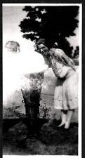 VINTAGE 1930 GOBLES MILL LAKE MICHIGAN ICE CREAM CONE ROADSIDE ATTRACTION PHOTO