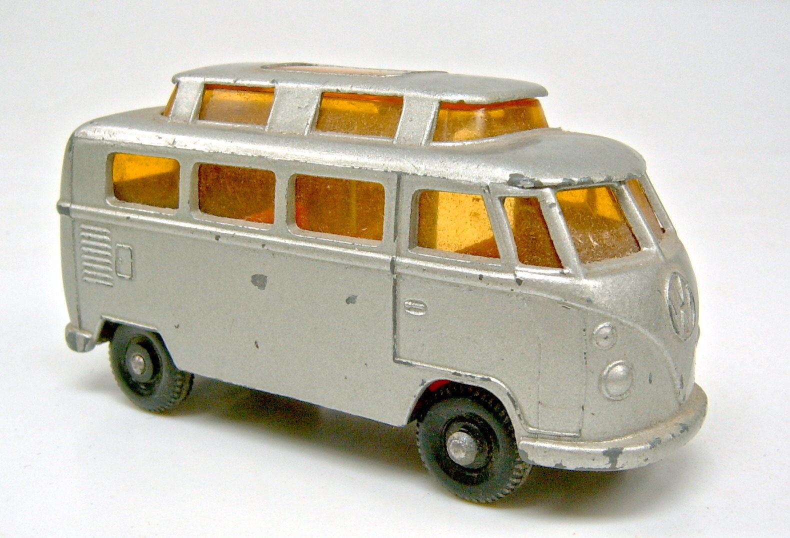 Matchbox RW 34C VW Camper Camper Camper silver 1. Version mit Hochdach c804a7