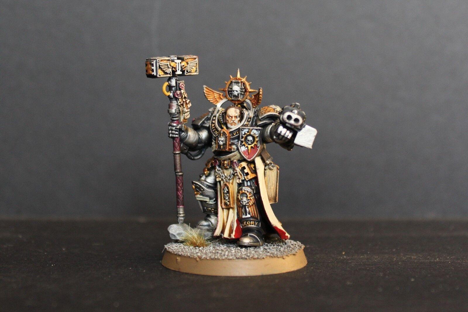 Warhammer 40k Pro painted Grey knights voldus grand master