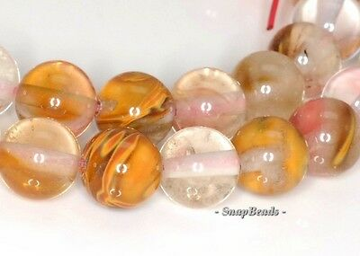 6MM FRUITY PINK CHERRY QUARTZ GEMSTONE ROUND 6MM LOOSE BEADS 15.5""