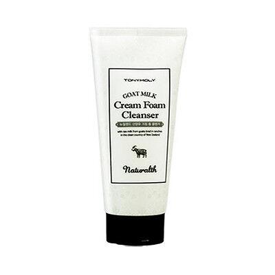 [TONYMOLY] Naturalth Goat Milk Cream Foam Cleanser - 200ml