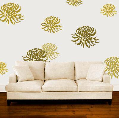 Chrysanthemum Stencil Floral Home Wall Decor Art Craft Paint Ideal Stencils