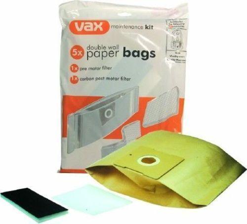 VAX VIVALITY plus Sorrento V0072 V0071 VS22 Sacs /& Kit De Filtre 1912539100 Genuine