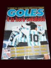 MARADONA - Draw World 1994 Goles Magazine + San Lorenzo Inauguration new Stadium