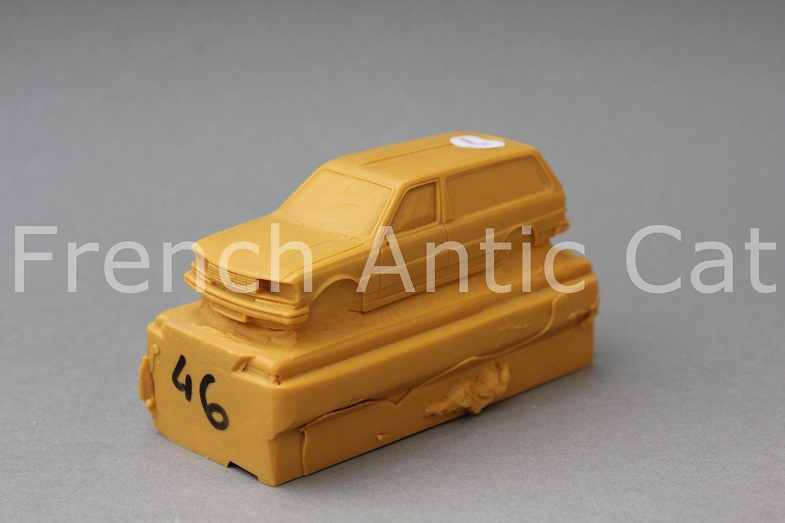 Rare matrice moule résine PEUGEOT 305 Tolée 1 43 Heco modeles QQ
