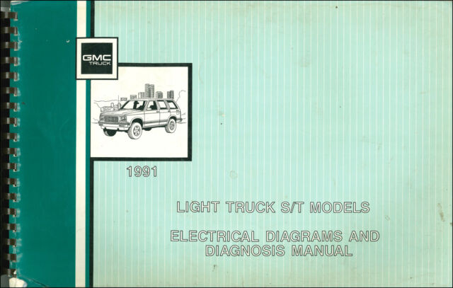 Gmc Sonoma Repair Manual 1991 Wiring Diagram