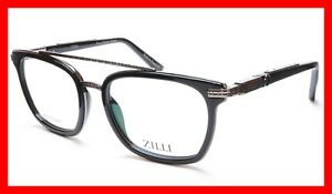 f7372714fab Image is loading ZILLI-Eyeglasses-Frame-Acetate-Titanium-Black-France-Hand-