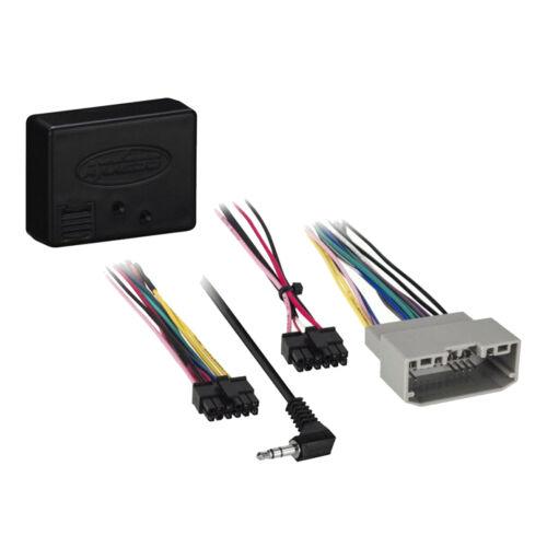 Rearview Cam Wiring Interface Antenna Adapter Dual 2-DIN Receiver Dash Kit