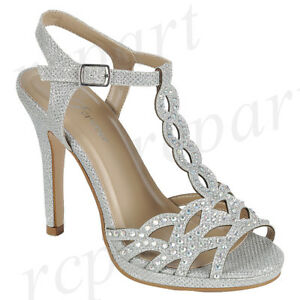 4d7309902 New women s shoes evening rhinestones buckle closure high heel ...