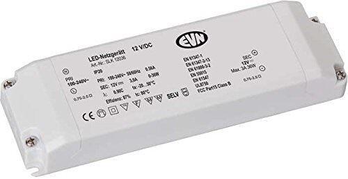 LED Netzgerät EVN Typ SLK12036  IP20  0-36W  12V DC