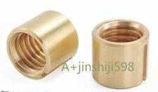 2pcs Milling Machine Part X Axis Screw Rod Copper Nut Axis Longitudinal Feed Nut