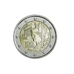 #rm# 2 Euro Commemorative Autriche 2018 - Republique Confortable Et Facile à Porter