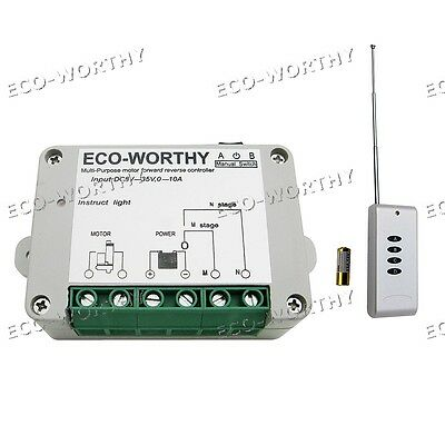 DC12V/24V Wireless Positive Inversion Remote Control Kit for Linear Actuator