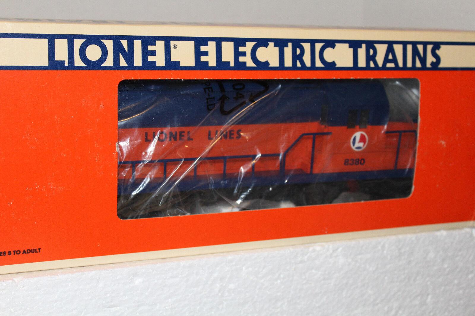 LIONELLA LINJER blå & orange FrödSSTÄLL MOTOR & 7bilS