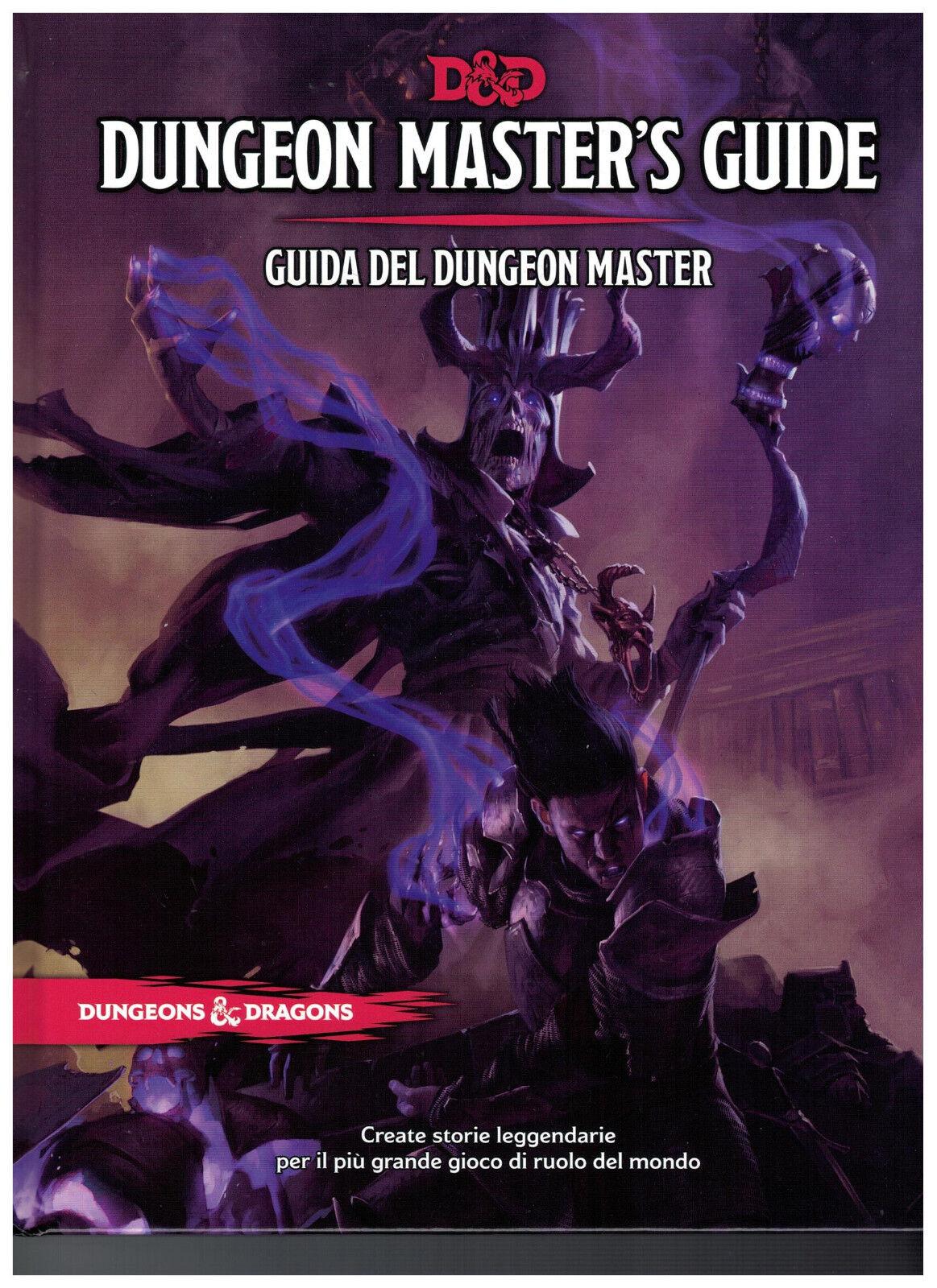 D&D Dungeon Master's Guide - Manuale Guida del Master - Quinta Edizione 5a ITA