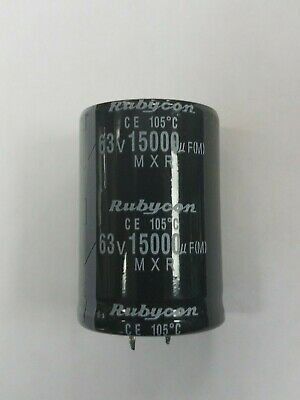USA FREE SHIPPING 5PCS 150UF 150mfd 63V Electrolytic Capacitor 105 degrees