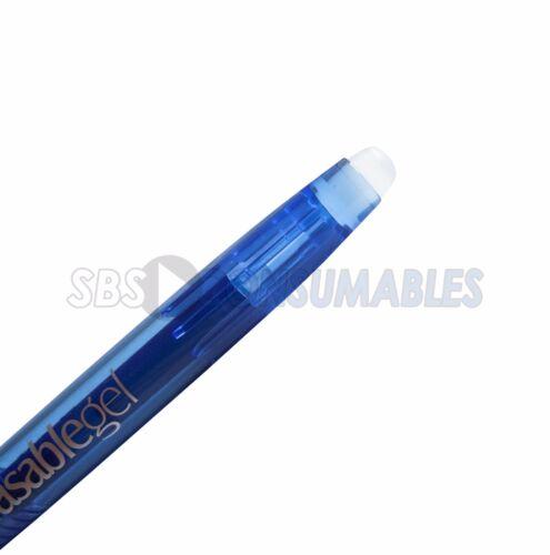 Erase Rollerball Proscribe Erasable Gel Pens Black or Blue Ink Friction Pens
