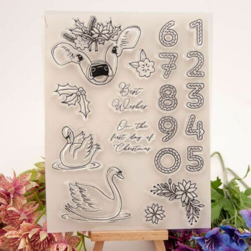 Silicone Clear Rubber Stamps Seal Scrapbooking Album Card Diary Decor Craft DIY