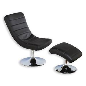 Relaxsessel mit hocker sessel fernsehsessel polstersessel for Sessel mit hocker schwarz