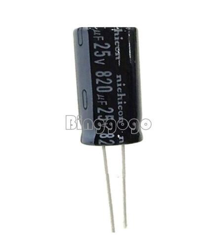 50Stks Electrolytic Capacitor 100//220//330//470//680//820//1000//3300uF 25V 16V 10V