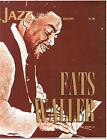 IL JAZZ - FATS WALLER - FASCICOLO N. 20 - FRATELLI FABBRI EDITORI 1968
