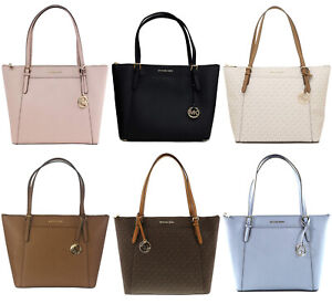 Details about Michael Kors Ciara Large East West Top Zip Tote