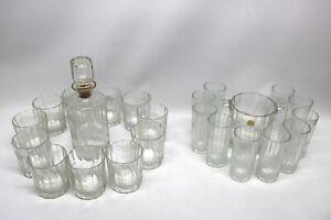 Whisky Karaffe mit Gläsern Eiswürfel Bormioli Italy graviert Rasche Euskirchen
