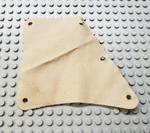 LEGO Tan 11x3 Cloth Sail from 6277 with 5 Holes
