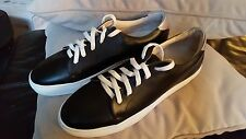 BOEMOS LOW TOP CASUAL LACE UP SHOES, MENS SZ 45 US 12, NEW w/O BOX, BLACK GOLD