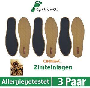 Cinnea-Zimteinlagen-Zimt-Sohle-Einlegesohlen-Zimtsohlen-Schuheinlagen-36-48