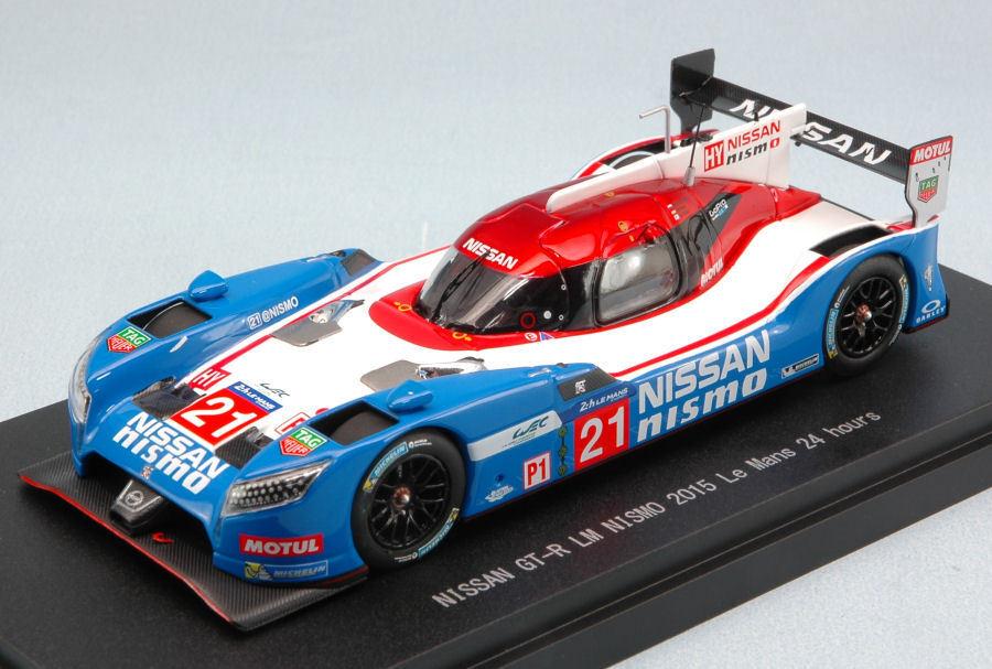 Nissan Gt-R  21 Dnf Le Mans 2015 Matsuda   Ordonez   Shulzhitskiy 1 43 Model