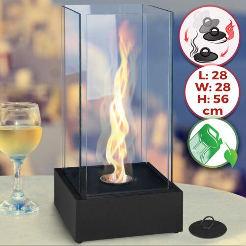 Tischkamin Edelstahl Bio Ethanol Feuerstelle Gelkamin Tischfeuer Deko Kaminfeuer