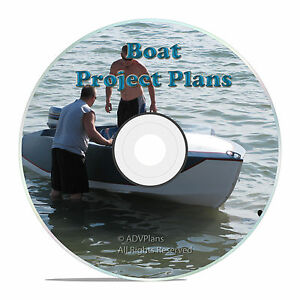 das bild wird geladen 220 boat plans canoe house boats inboard kayaks - Versand Container Huser Plne Pdf