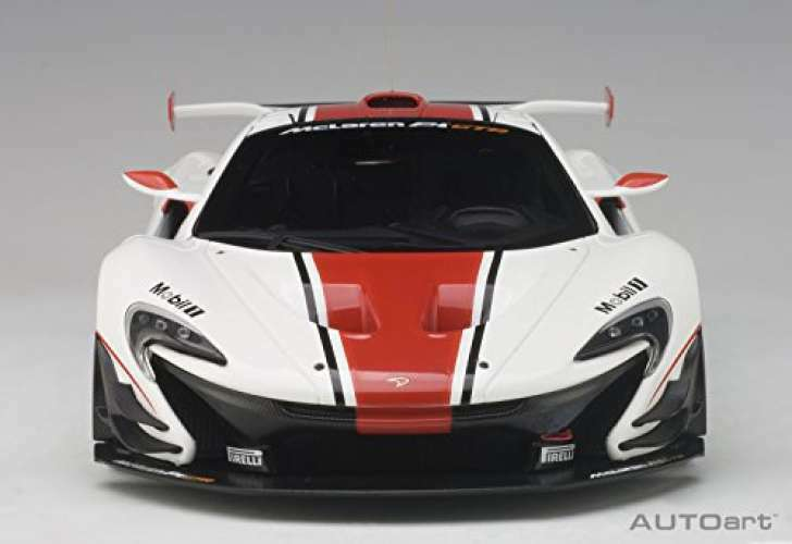 AUTOart 1 18 McLaren P1 P1 P1 GTR white   red finished product  Minicar · die cast car 4d0bdd