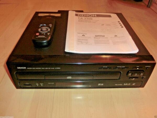 OfficiëLe Website Denon La-2300 High-end Laserdisc-player, Inkl. Fb&bda, 2 Jahre Garantie Koel In De Zomer En Warm In De Winter